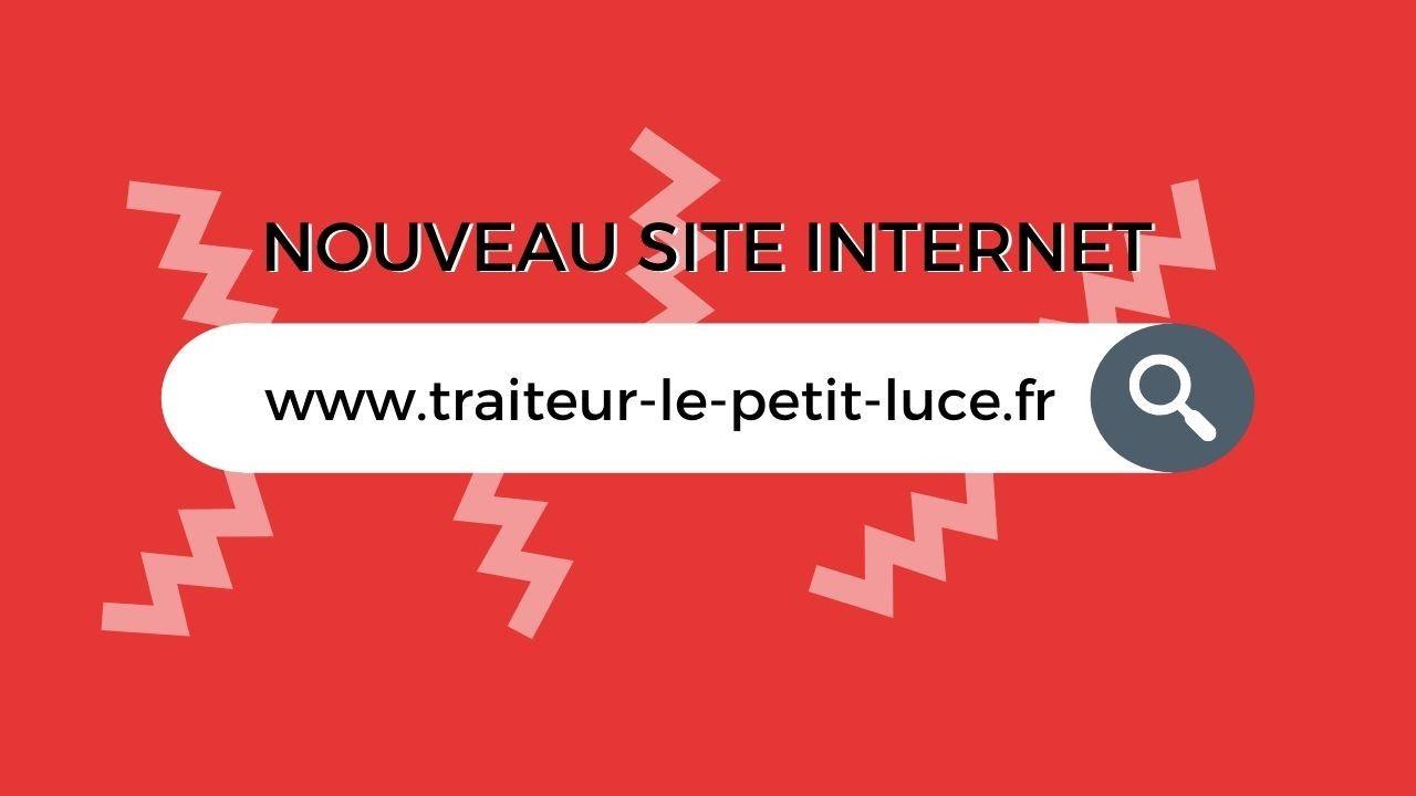 Barre de recherche avec inscription www.traiteur-le-petit-luce.fr