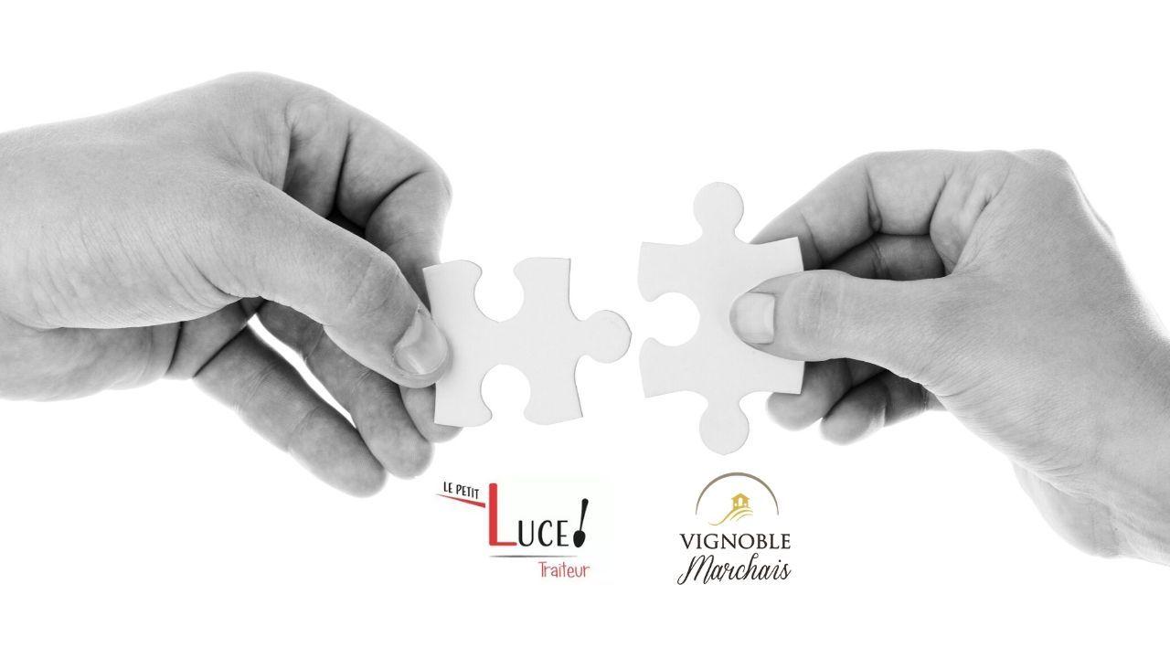 Partenariat le Petit Luce Traiteur et Vignoble Marchais